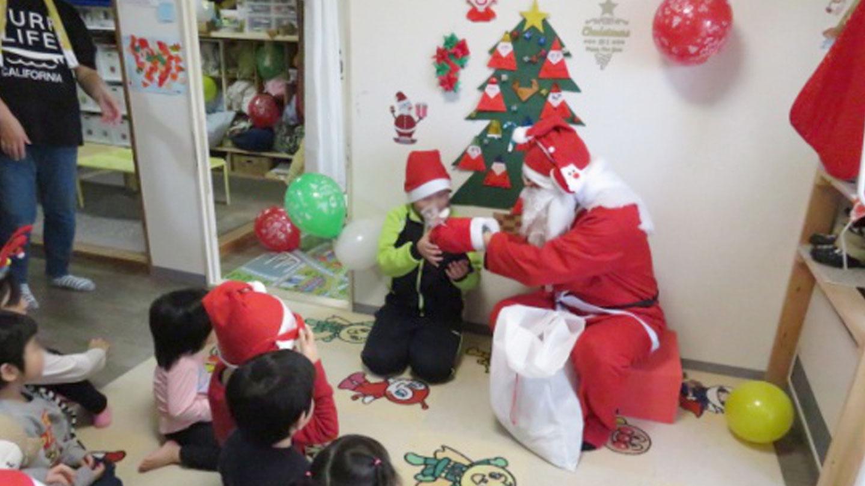 クリスマス会の様子です。